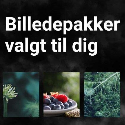 Tine Appel sælger billedepakker, særlig valgt til dig